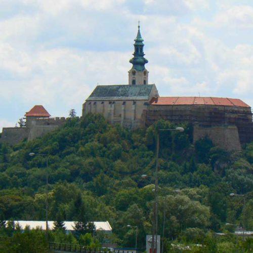 Do Albanii 2009 - Słowacja, zamek w Bratysławie