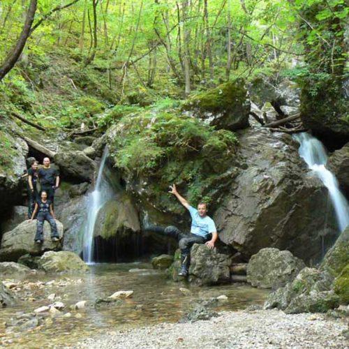 Do Albanii 2009 - Słowenia, Soteska Pekel