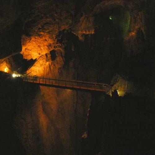 Do Albanii 2009 - najgłębszy podziemny kanion w Europie, Szkocjanskie Jamy w Słowenii