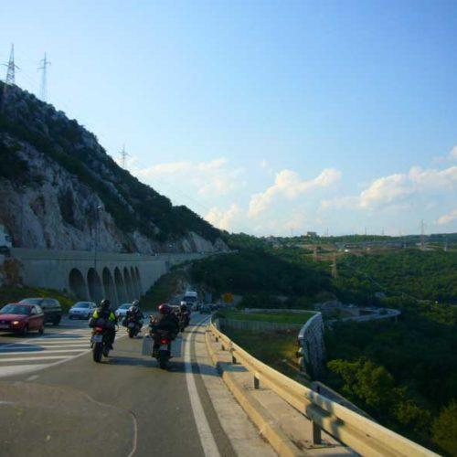 Do Albanii 2009 - Rijeka w Chorwacji