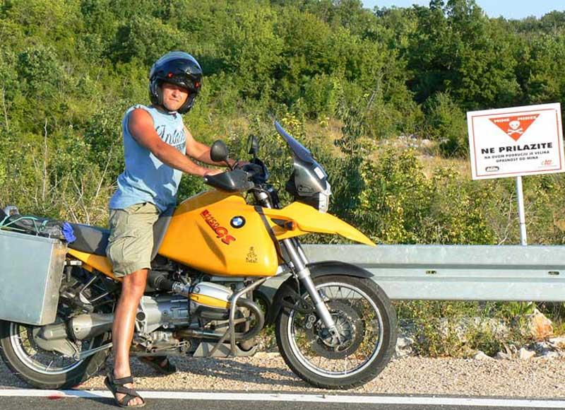 Do Albanii 2009 - w drodze powrotnej na kemping w Chorwacji