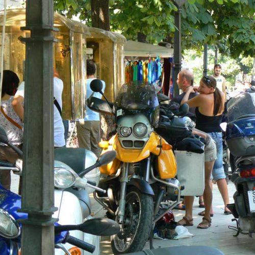 Do Albanii 2009 - motocyklowy warkocz