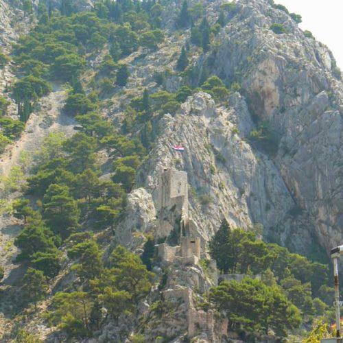 Do Albanii 2009 - zamek w Chorwacji