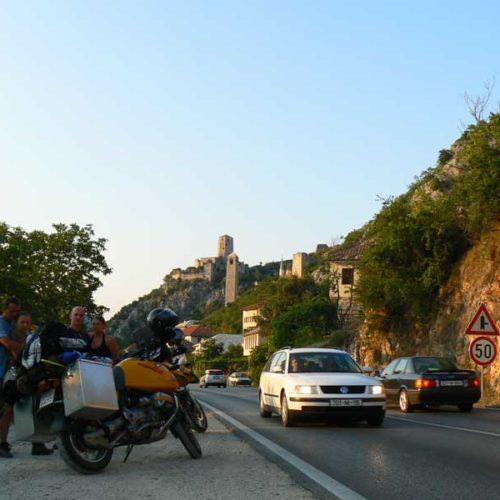 Do Albanii 2009 - Počitelj w Bośni i Hercegowinie