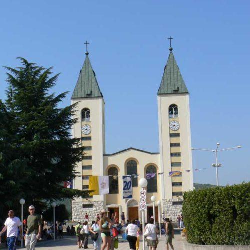 Do Albanii 2009 - Medjugorie w Bośni i Hercegowinie