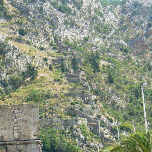 Do Albanii 2009 - Kotor w Czarnogórze