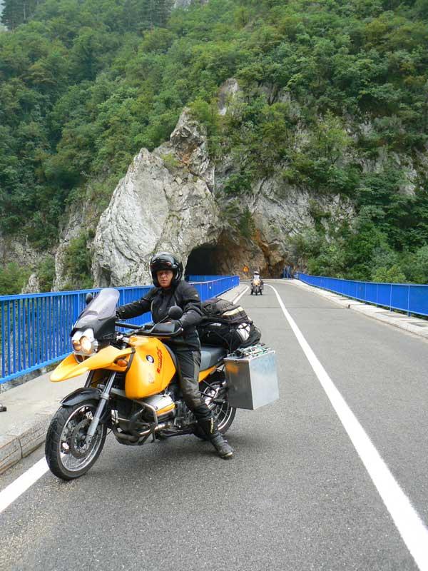 Do Albanii 2009 -kanion rzeki Piva w Czarnogórze
