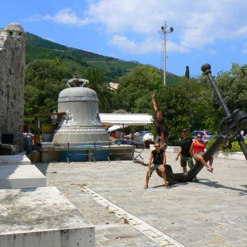Do Albanii 2009 - Budwa w Czarnogórze