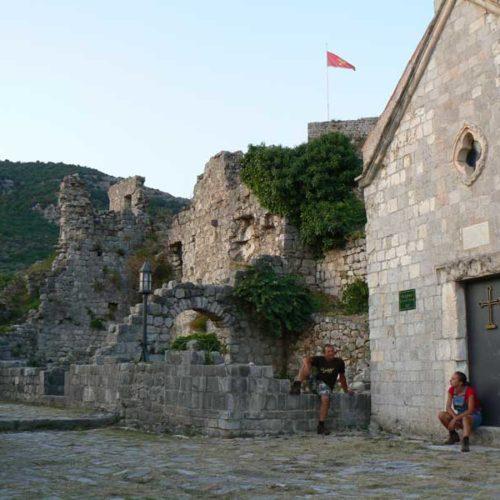 Do Albanii 2009 - Stary Bar w Czarnogórze