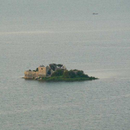 Do Albanii 2009 - Szkoderskie Jezioro w Czarnogórze