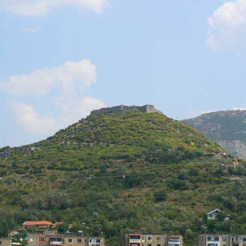 Do Albanii 2009 - zamek w Szodrze w Albanii