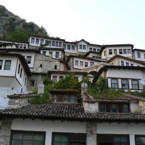 Do Albanii 2009 - Berat, miasto tysiąca okien w Albanii