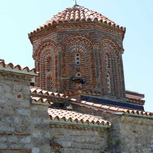 Do Albanii 2009 - klasztor św. Nauma w Macedonii