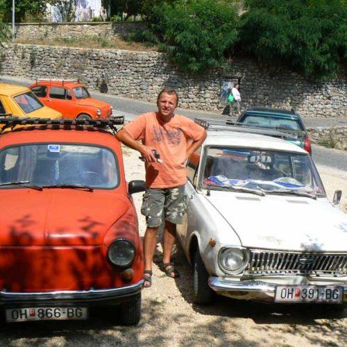 Do Albanii 2009 - macedońskie zabytki drogowe