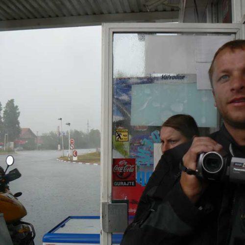 Do Albanii 2009 - serbska ulewa