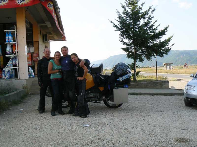Do Albanii 2009 - pożegnanie z Haćami