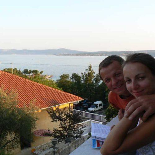 Do Albanii 2009 - Cirkwenica w Chorwacji