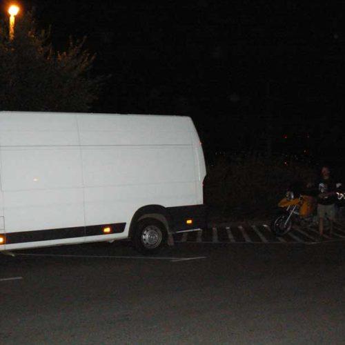 Do Albanii 2009 - drugi etap akcji ratunkowej na Węgrzech przy odbiorze