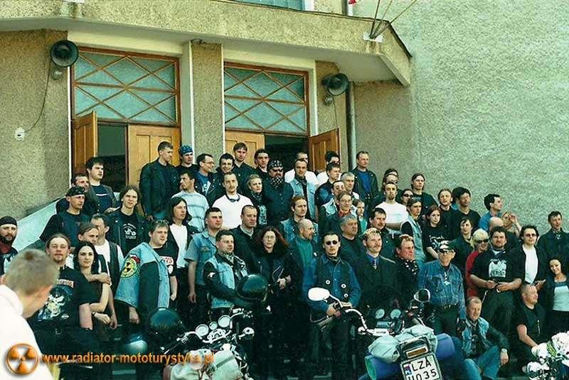 Klub Motocyklowy Radiator Lubaczów- rozpoczęcie sezonu motocyklowego z poświęceniem motocykli