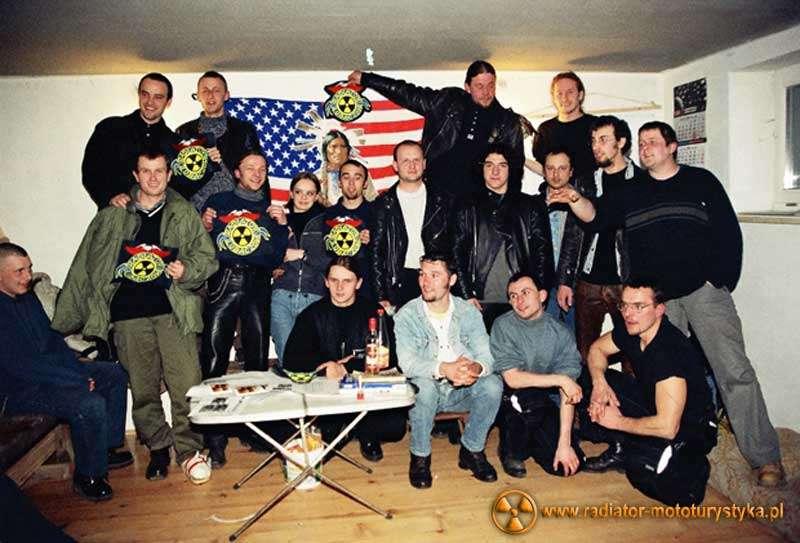 Klub Motocyklowy Radiator Lubaczów - spotkania w garażu