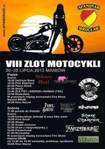 VIII Zlot Motocykli - Maniów k. Sobótki