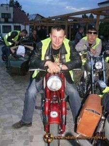 VI Nocny Rajd Motocykli Zabytkowych 2013