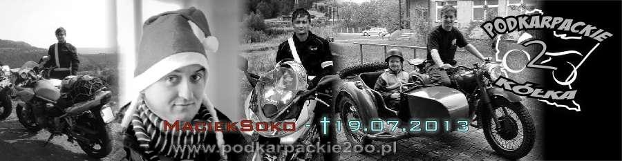 """Maciej Mussur """"Soko"""" zginął na motocyklu"""