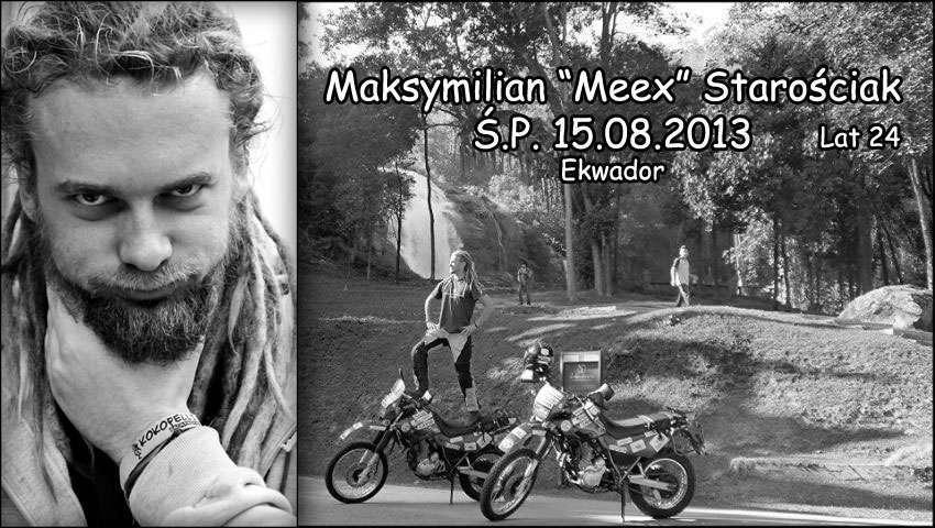Maksymilian Starościak zginął w podróży dookoła świata
