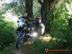 Wyprawa motocyklowa – Bułgarski Bastion Komunizmu. Sárospatak - miejsce naszego kempingu.