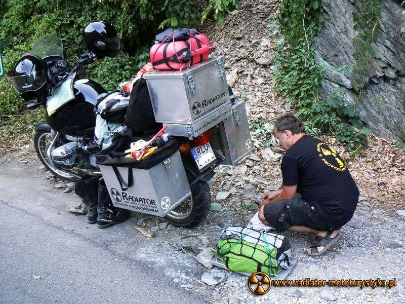 Wyprawa motocyklowa – Bułgarski Bastion Komunizmu. Lilafüred.
