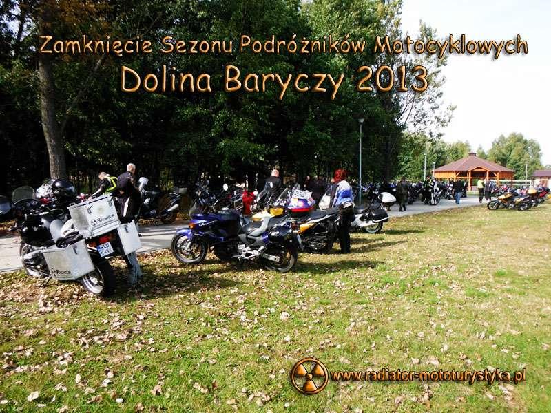 """Zamknięcie Sezonu Podróżników Motocyklowych """"Dolina Baryczy 2013"""""""