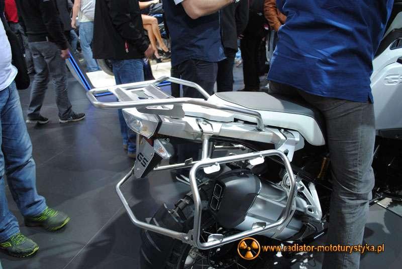 Kufry BMW R 1200 GS Adventure - 2013