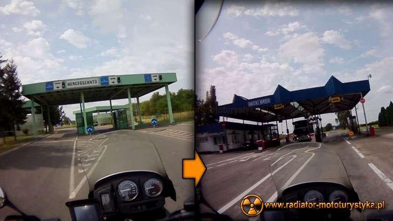 Wyprawa motocyklowa – Bułgarski Bastion Komunizmu. Przejście graniczne węgiersko-serbskie.
