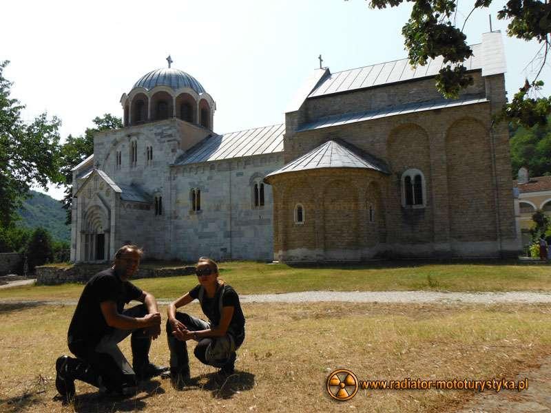 Wyprawa motocyklowa – Bułgarski Bastion Komunizmu - Monastyr Studenica