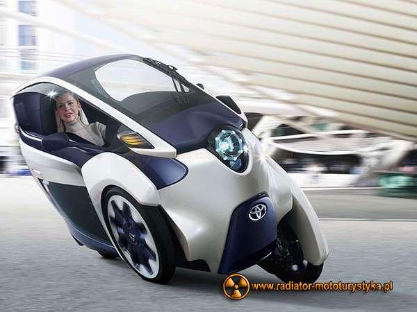 Toyota i-Road, fot. Toyota