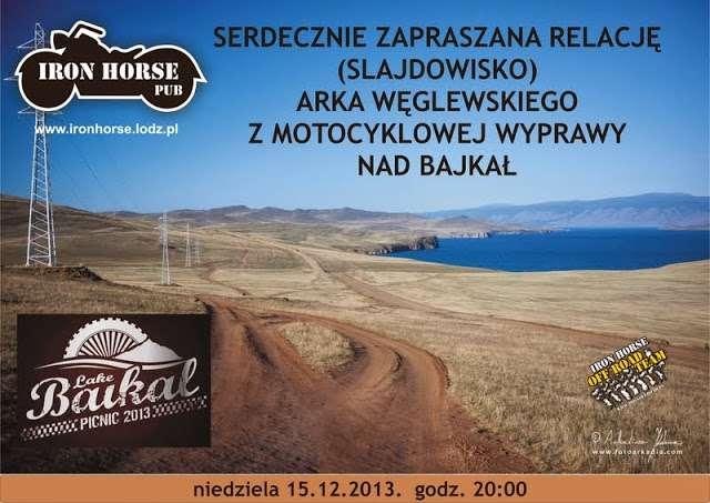 Bajkał - plakat