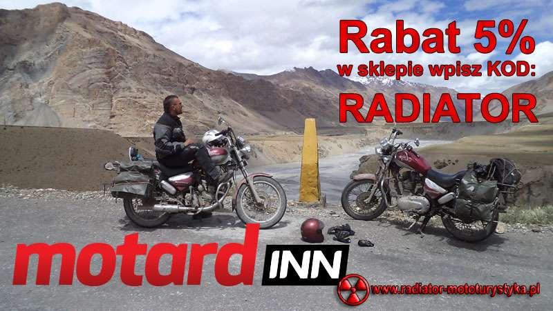 Rabat w sklepie Motardinn motocyklowym z Radiator Mototurystyka