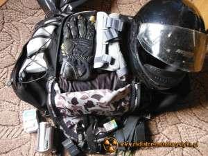 Skromny bagaż na weekend z ortezą