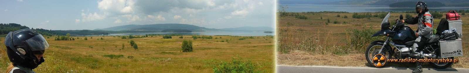 Wyprawa motocyklowa – Bułgarski Bastion Komunizmu - Jezioro Vlasinsko