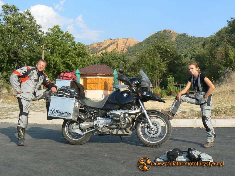Wyprawa motocyklowa – Bułgarski Bastion Komunizmu - Stopskie Piramidy