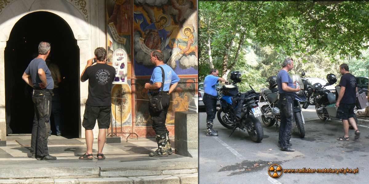 Wyprawa motocyklowa – Bułgarski Bastion Komunizmu - Rilski Monastyr