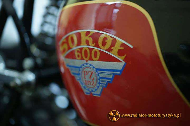 Sokół 600 na Wystawie Motocykli Zabytkowych - Rzeszów, fot. facebook.com