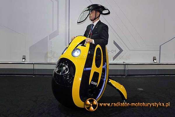 Hyundai E4U - motocykl jajko