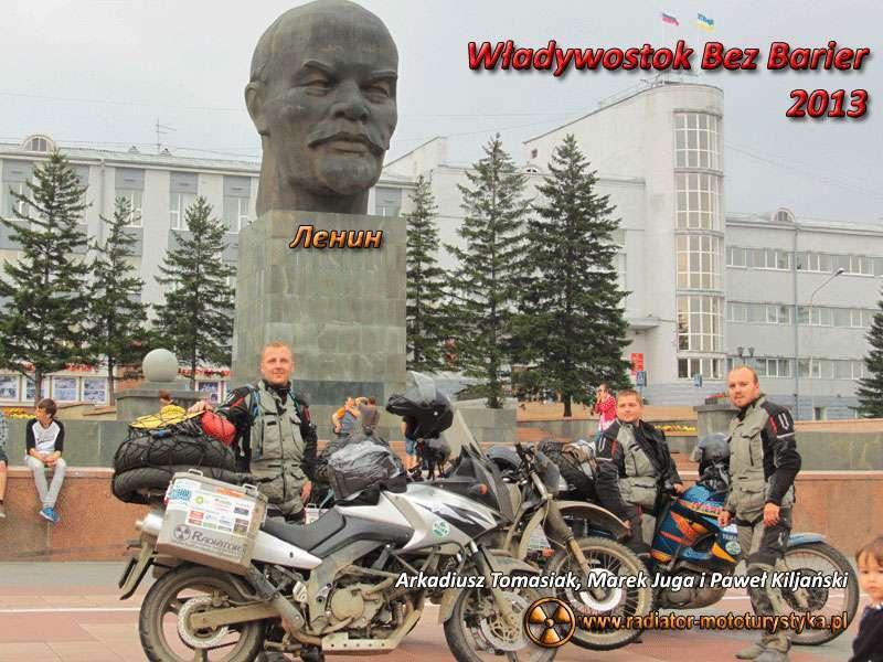 IV Nasze Wyprawy Motocyklowe - Władywostok bez barier 2013 - Arkadiusz Tomasiak, Paweł Kiljański i Marek Juga (Maras)