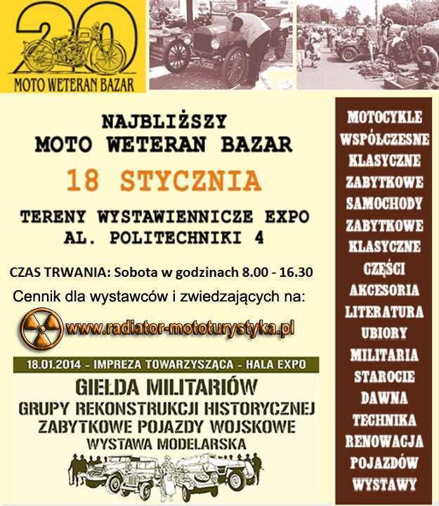 Moto Weteran Bazar - Łódź 2014