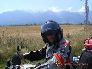 Wyprawa motocyklowa – Bułgarski Bastion Komunizmu – w tle Góry Pirin