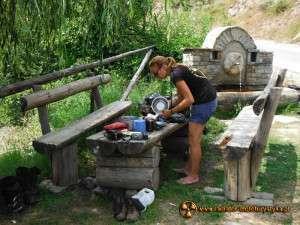 Wyprawa motocyklowa – Bułgarski Bastion Komunizmu – przerwa na posiłek