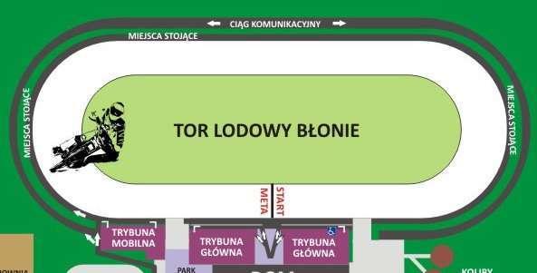 """Tor Lodowy """"Błonie"""" - Sanok, źródło: e-ticket.pl"""