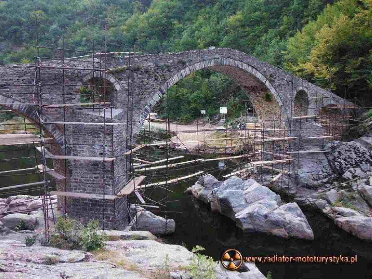 Wyprawa motocyklowa – Bułgarski Bastion Komunizmu – Rodopy - Diabelski Most