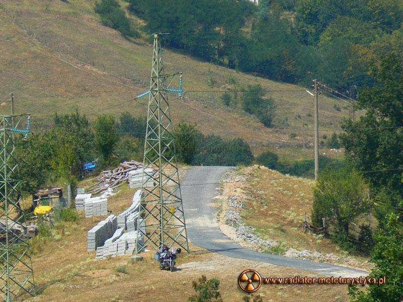 Wyprawa motocyklowa – Bułgarski Bastion Komunizmu – Rodopy - droga do Orlich Skał